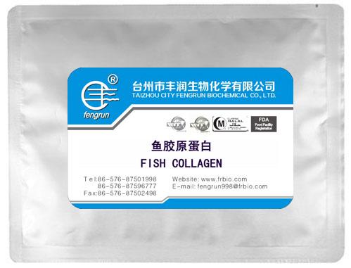 Fish collagen powder taizhou city fengrun biochemical co for Fish collagen powder